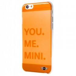 Capa iPhone 6 / 6s Oficial Mini Cooper Letras Naranja iPhone 6|6S