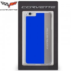 Capa iPhone 6 Plus / 6s Plus Oficial Corvette Azul iPhone 6|6s Plus