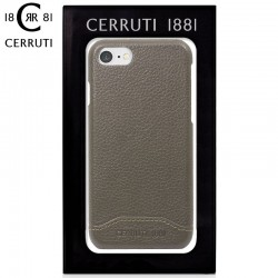 Capa iPhone 7 / iPhone 8 Oficial Cerruti Pele Gris iPhone 7|8