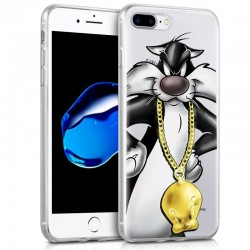 Capa iPhone 7 Plus / iPhone 8 Plus Oficial Looney Tunes Silvestre iPhone 7|8 Plus
