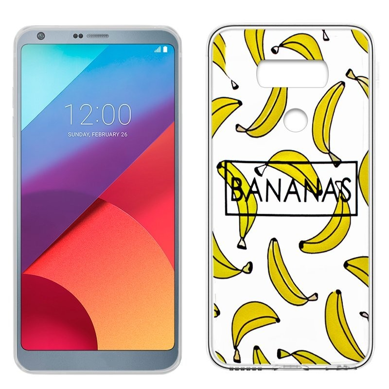 Capa LG G6 / G6 Plus Clear Bananas G6
