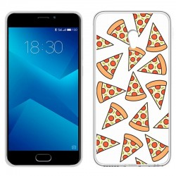 Capa Meizu M5 Note Clear Pizza M5 Note