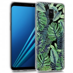 Capa Samsung A530 Galaxy A8 (2018) Clear Tropical Galaxy A8 (2018)