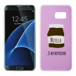 Capa Samsung G935 Galaxy S7 Edge Design Chocolate Galaxy S7 Edge