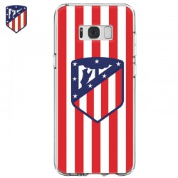 Capa Samsung G955 Galaxy S8 Plus Oficial Futebol Atlético Madrid Galaxy S8 Plus