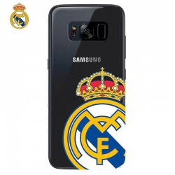 Capa Samsung G955 Galaxy S8 Plus Oficial Futebol Real Madrid Transparente Galaxy S8 Plus