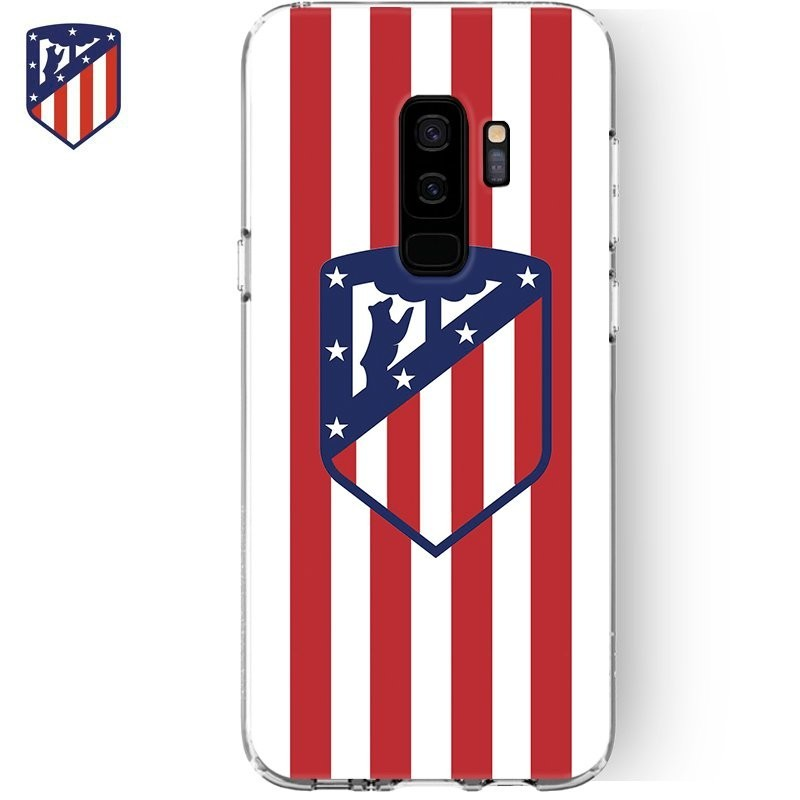 Capa Samsung G965 Galaxy S9 Plus Oficial Futebol Atlético de Madrid Galaxy S9 Plus