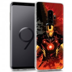Capa Samsung G965 Galaxy S9 Plus Oficial Marvel Iron Man Galaxy S9 Plus