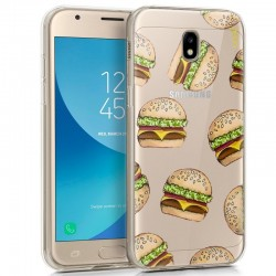 Capa Samsung J330 Galaxy J3 (2017) Clear Burger Galaxy J3 2017