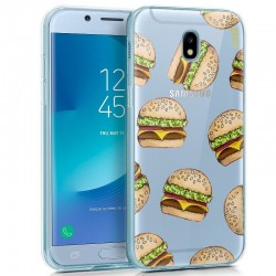 Capa Samsung J530 Galaxy J5 (2017) Clear Burger Galaxy J5 2017
