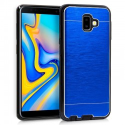 Capa Samsung J610 Galaxy J6 Plus Aluminio Azul Galaxy J6 Plus