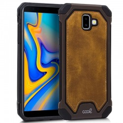 Capa Samsung J610 Galaxy J6 Plus Hard Tela Castanho Galaxy J6 Plus
