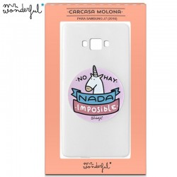 Capa Samsung J710 Galaxy J7 (2016) Oficial Mr Wonderful Unicornio Galaxy J7 2016