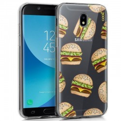 Capa Samsung J730 Galaxy J7 (2017) Clear Burger Galaxy J7 2017