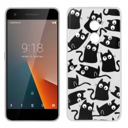 Capa Vodafone Smart V8 Design Cats Smart V8