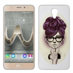 Capa Wiko U Feel Prime Design Girl U Feel Prime