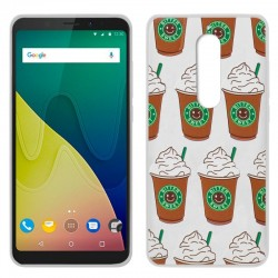 Capa Wiko View XL Design Coffee View XL