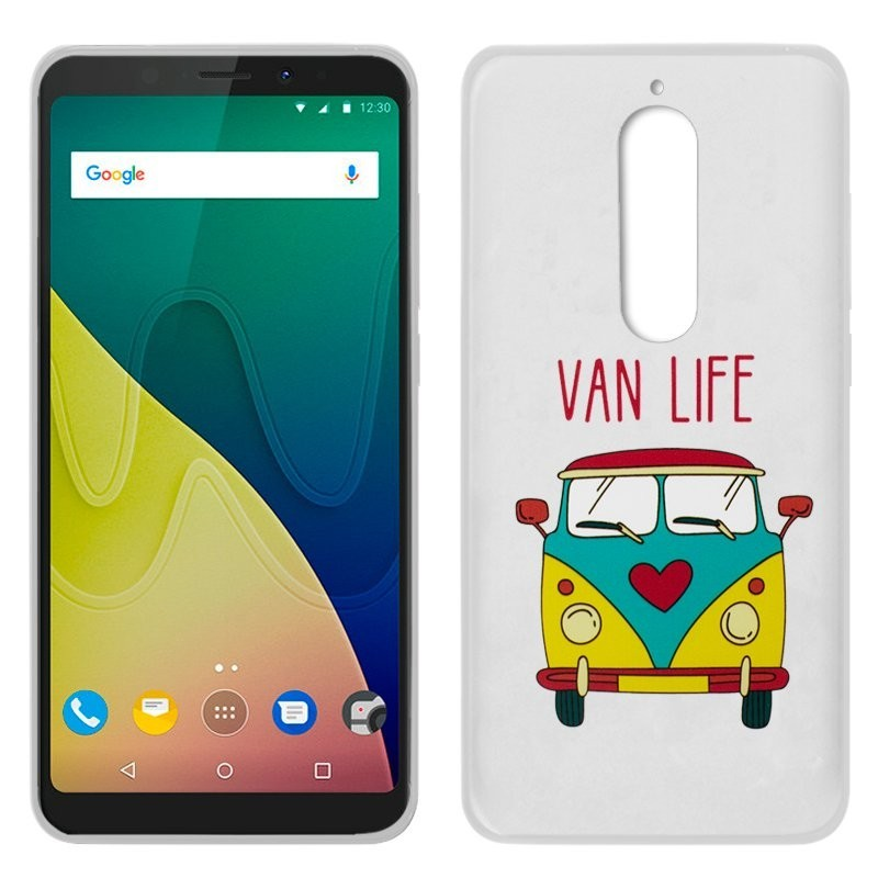 Capa Wiko View XL Design Furgo View XL