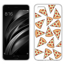 Capa Xiaomi Mi6 Clear Pizza MI 6