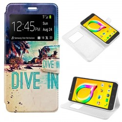 Capa Flip Cover Alcatel A5...