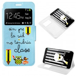Capa Flip Cover Alcatel Pop 4 (5) Design Colegio POP 4