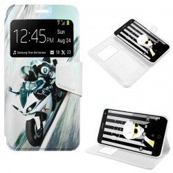 Capa Flip Cover Alcatel Pop 4 (5) Design Moto POP 4