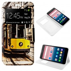 Capa Flip Cover Alcatel Pop Up Design Tren POP UP 6044D