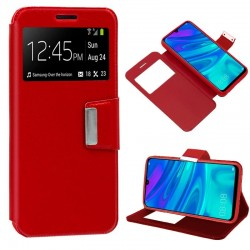 Capa Flip Cover Huawei P Smart (2019) / Honor 10 Lite Liso Vermelho P Smart (2019) | Honor 10 Lite