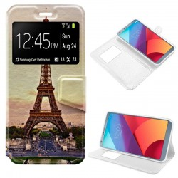 Capa Flip Cover LG G6 / G6 Plus Design Paris G6