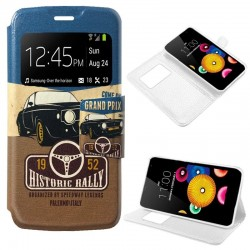 Capa Flip Cover LG K4 Design Car K4