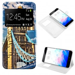 Capa Flip Cover Meizu M3 Note Design London M3 Note