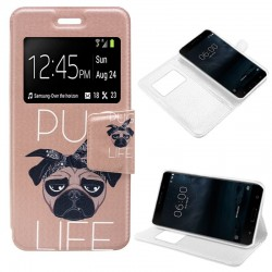 Capa Flip Cover Nokia 6 Design Dog NOKIA 6