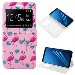 Capa Flip Cover Samsung A530 Galaxy A8 (2018) Design Flamengos Galaxy A8 (2018)