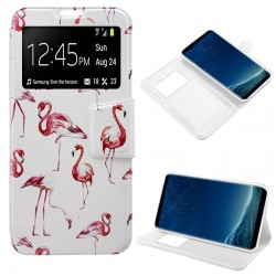 Capa Flip Cover Samsung G955 Galaxy S8 Plus Design Flamengos Galaxy S8 Plus