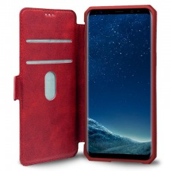 Capa Flip Cover Samsung G955 Galaxy S8 Plus Leather Vermelho Galaxy S8 Plus