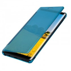 Capa Flip Cover Samsung N950 Galaxy Note 8 Clear View Azul Galaxy Note 8