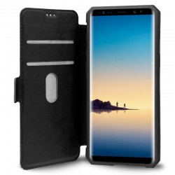 Capa Flip Cover Samsung N950 Galaxy Note 8 Leather Preto Galaxy Note 8