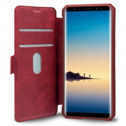 Capa Flip Cover Samsung N950 Galaxy Note 8 Leather Vermelho Galaxy Note 8
