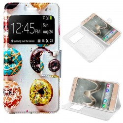 Capa Flip Cover Wiko U Feel Prime Design Donuts U Feel Prime