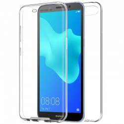 CAPA TRASEIRA 3D HUAWEI Y5 (2018) / HONOR 7S (TRANSPARENTE FRONTAL + TRASEIRA) Y5 (2018) | Honor 7S