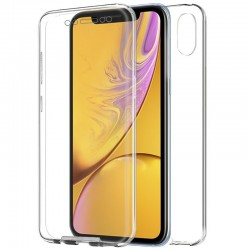 Capa Traseira 3D iPhone XR (Transparente Frontal + Traseira) iPhone XR