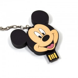 Pen Drive USB x16 GB Silicone Oficial Disney Mickey Pen Drives