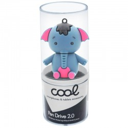 Pen Drive USB x32 GB Silicone Elefante Pen Drives