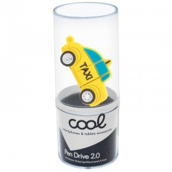 Pen Drive USB x32 GB Silicone Taxi Pen Drives