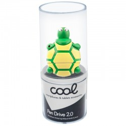 Pen Drive USB x32 GB Silicone Tartaruga Pen Drives