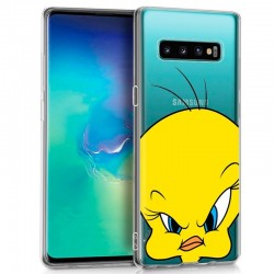 Capa Samsung G975 Galaxy S10 Plus Oficial Looney Tunes Tweety Galaxy S10 Plus