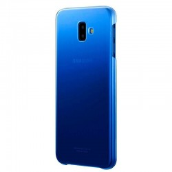 Capa Original Samsung J610 Galaxy J6 Plus Gradation Cover Traseira Blue Galaxy J6 Plus