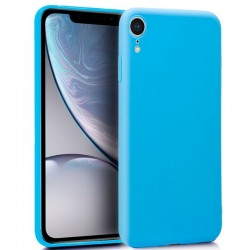 Capa Traseira iPhone XR (Celeste) iPhone XR
