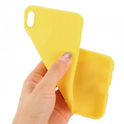 Capa Traseira iPhone XS Max (Amarelo) iPhone XS Max