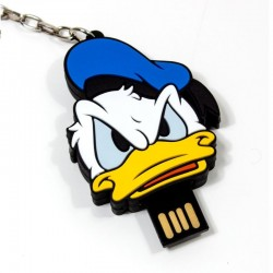 Pen Drive USB x16 GB Silicone Oficial Disney Donald Pen Drives